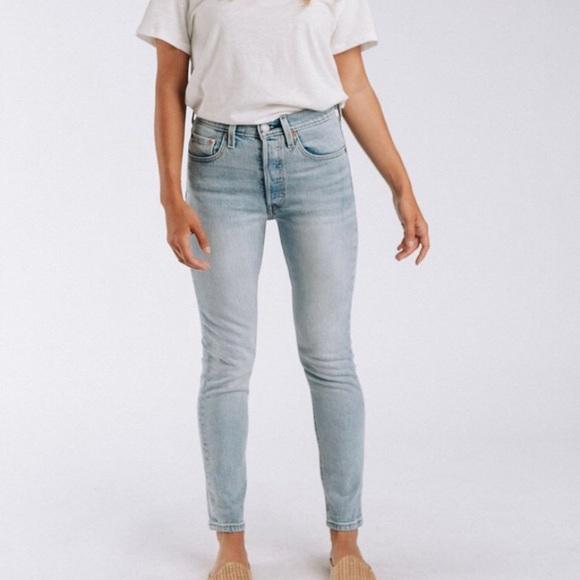5da73319e58 Levi's Jeans | Nwt Levis 501 Skinny Towards The Sun Wash | Poshmark
